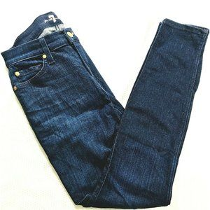 7 For All Mankind Ankle Gwenevere Jeans Womens